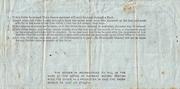 1 Shilling & 6 Pence - Postal Order - England – revers