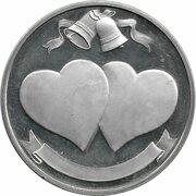 Medal - Wedding Keepsake (By H. Samuel) – revers