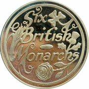 Token - Six British Monarchs (Elizabeth II) – revers