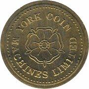 Token - Eurocoin London (York Coin Machines) – avers
