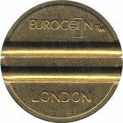 Token - Eurocoin London (York Coin Machines) – revers
