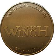 Jeton - Largo Winch – revers