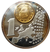 Jetons Belgique The new  european currency – revers