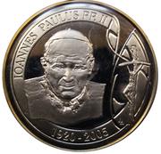 Jeton - Décès du pape Jean-Paul II – avers