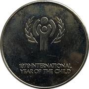 Médaille - Année internationale de l'enfance (Colombie britannique) – avers