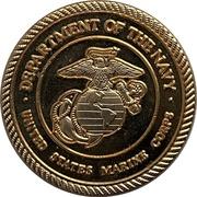 Medal - United States Marine Corps (Microsoft) – revers