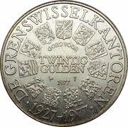 20 Gulden - De Grenswisselkantoren -  avers