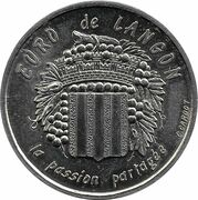 1 Euro de Langon [33] – avers