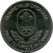 Jeton - Trust olympique du Canada (Ski alpin) – revers