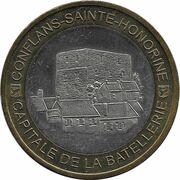 10 écus de Conflans-Sainte-Honorine [78] – avers