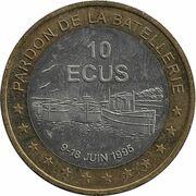 10 écus de Conflans-Sainte-Honorine [78] – revers
