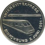 Medal - History of Railway (Intercity Express) – avers