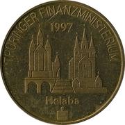 ½ euro - Ministère des finances de Thuringe – avers
