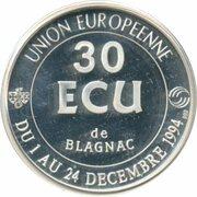 30 Ecu de Blagnac – revers