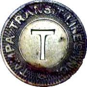 Tampa Transit Token – avers