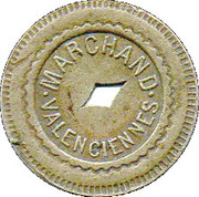 10 Centimes  Marchand Valenciennes [59] – avers