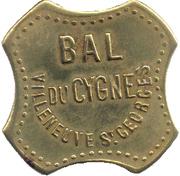 25 centimes - Bal du cygne - Villeneuve Saint Georges [94] – avers