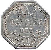 25 Centimes - Bal Dancing des Fleurs - Paris [75] – avers