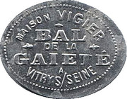 Bon pour une danse - Maison Vigier - Bal de la Gaiété - Vitry S/ Seine [94] – avers