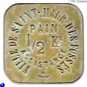½  Kilo Pain Assistance - Ville de Saint-Maur-des-fossés [94] – avers