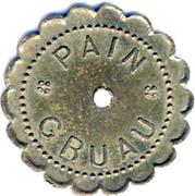 10 pains  - GRUAU - ROUBAIX [59] – avers