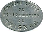20 Francs - Société civile de Consommation de Trignac [44] – avers