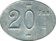 20 Francs - Société civile de Consommation de Trignac [44] – revers