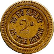 2 Pence Token – revers