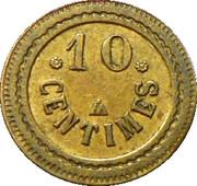 10 Centimes - Token – avers