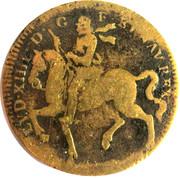 Louis XIIII NIL NISI CONSILIO – avers