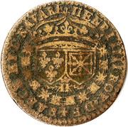 Jeton Henri IIII - Erunt duo incarne una – avers