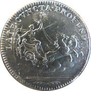 Louis XV - Late cuncta profundit – revers