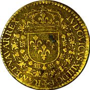 Jeton Louis XIII - Hoc Sydere Lilia Florent – avers