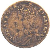 Louis XV - Visanimicum Corpore Crescit – avers