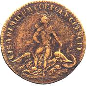 Louis XV - Visanimicum Corpore Crescit – revers