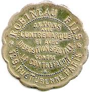 Bon pour 1 Franc - Entreprise Marlaud - Paris [75] – avers
