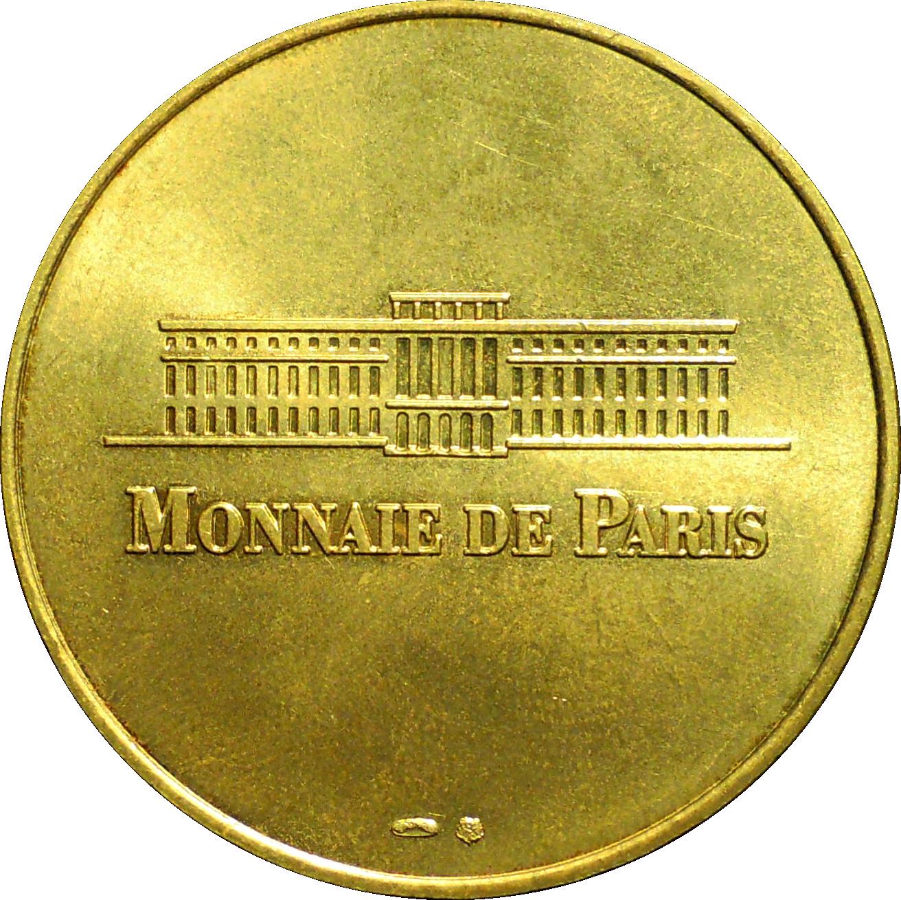 jeton touristique monnaie de paris mont saint michel n 1 jetons numista. Black Bedroom Furniture Sets. Home Design Ideas