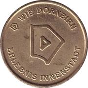 token Stadt Dornbirn (parkmunze) – revers