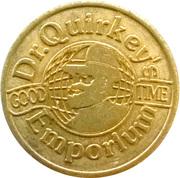 Dr. Quirkey's Emporium token – avers