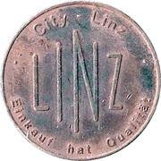 Jeton de stationnement - Linz (Bronze) – revers
