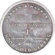 Token 1 Good Behavior (2003) – avers