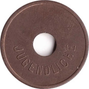 Public swimming pool token - Nurnberg (youth) – revers