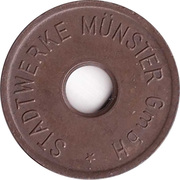 Public swimming pool token - Munster - type2 (youth) – avers