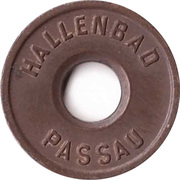 Public swimming pool token - Passau (youth) – avers