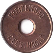 Public Swimming Pool Token - Geesthacht (youth) – avers