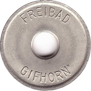 Public swimming pool token - Gifhorn (youth) – avers
