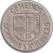 Public swimming pool token - Schwaig (youth) – avers