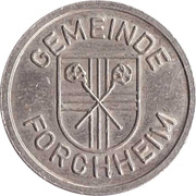 Public swimming pool token - Forchheim (youth) – avers