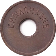 Public swimming pool token - Rheine (adult) – revers