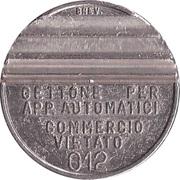 Jukebox Token - Gettone Apparecchi Automatici (W) – avers